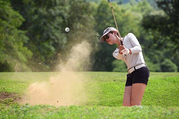 Golfer Southport